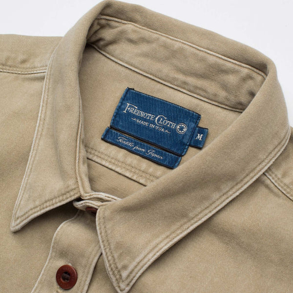 Utility Shirt in Khaki