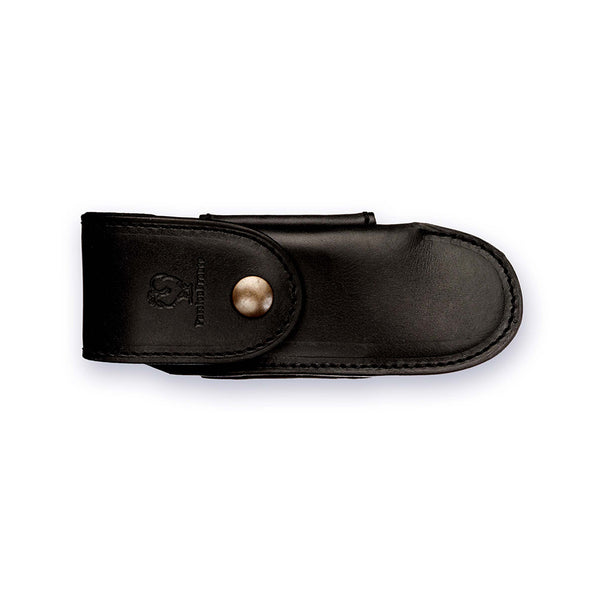 Belt Sheath in Black Calfskin - The Revive Club