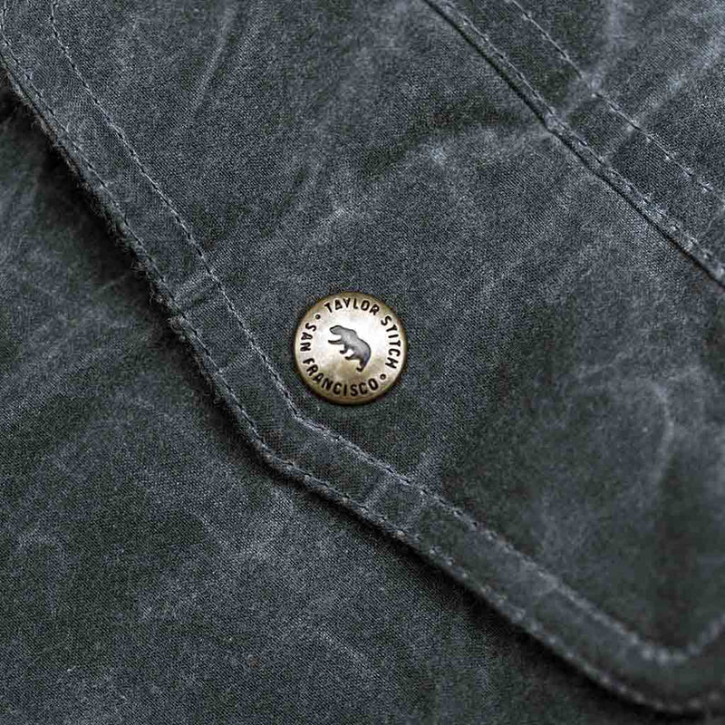 The Winslow Parka in Slate Wax Canvas - The Revive Club