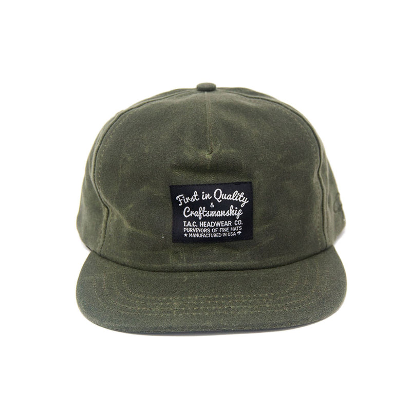 Wax II Snapback - Olive - The Revive Club