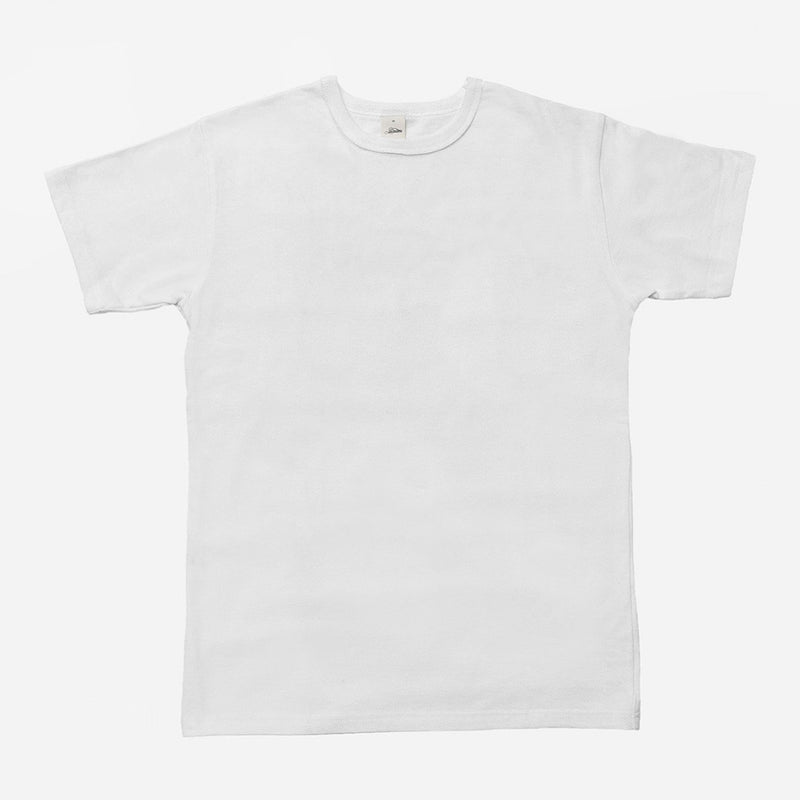 Heavyweight Plain T⁠-⁠Shirt White - The Revive Club
