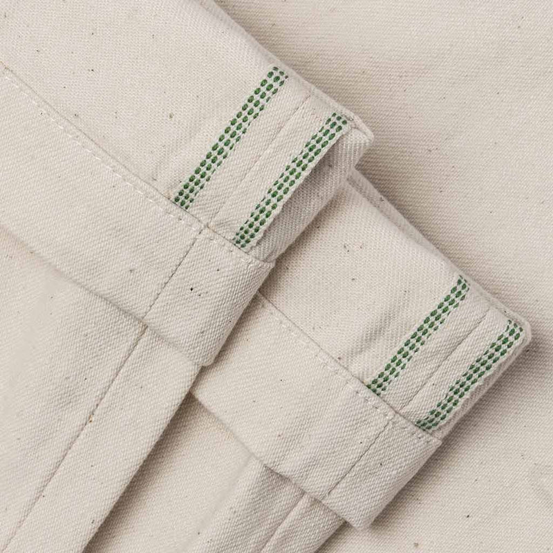 The Camp Pant in Organic Natural Selvedge - The Revive Club