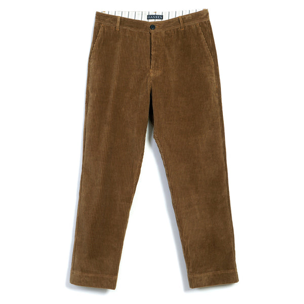 Ken Wide Cut Trousers in Camel