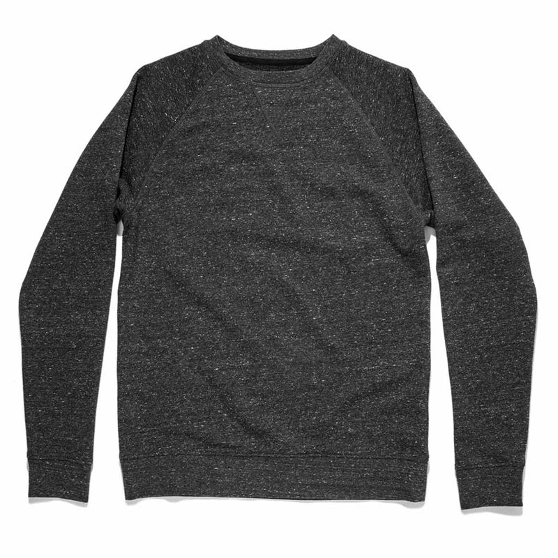 The Crewneck in French Terry Heather Grey - The Revive Club
