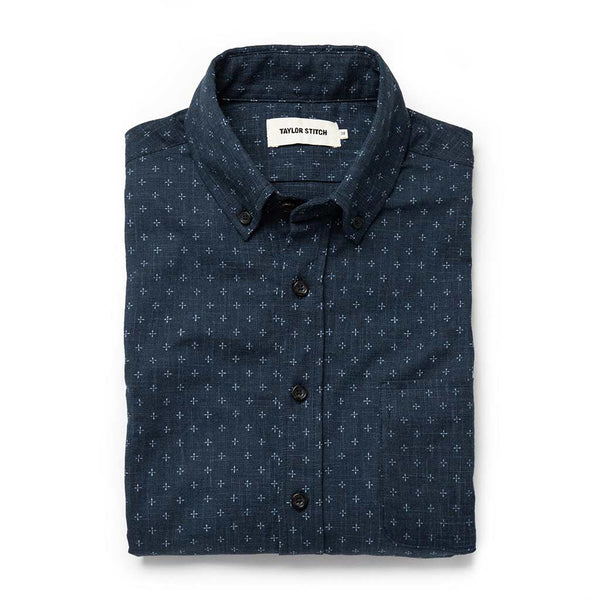 Short Sleeve Jack in Indigo Star - The Revive Club