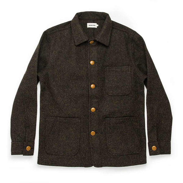 Ojai Jacket in Shetland Moss - The Revive Club