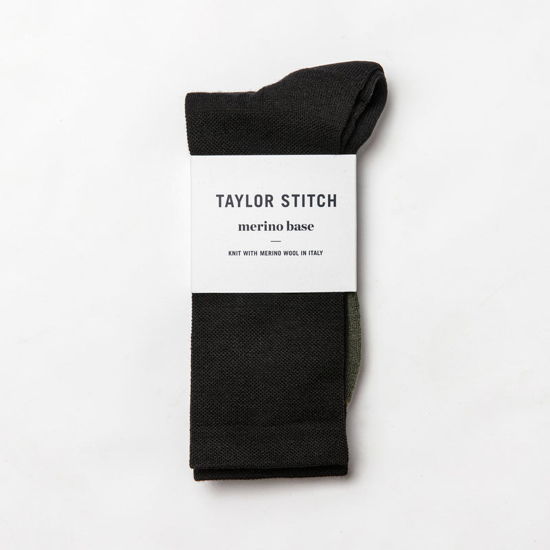 The Merino Sock in Black