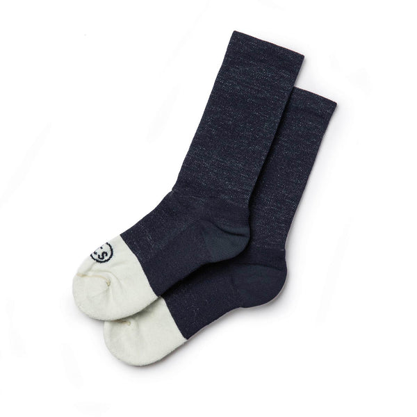 The Merino Sock in Navy