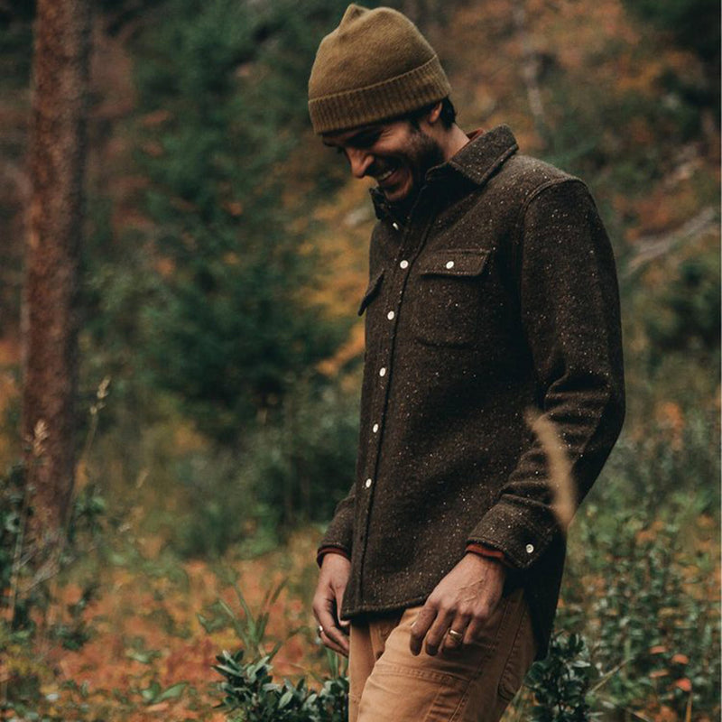 Leeward Shirt in Olive Donegal