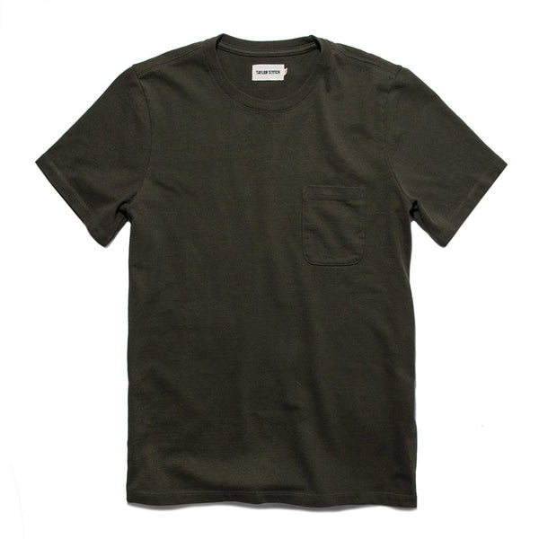 The Heavy Bag Tee in Cypress - The Revive Club