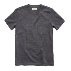 The Heavy Bag Tee in Heather Grey - The Revive Club