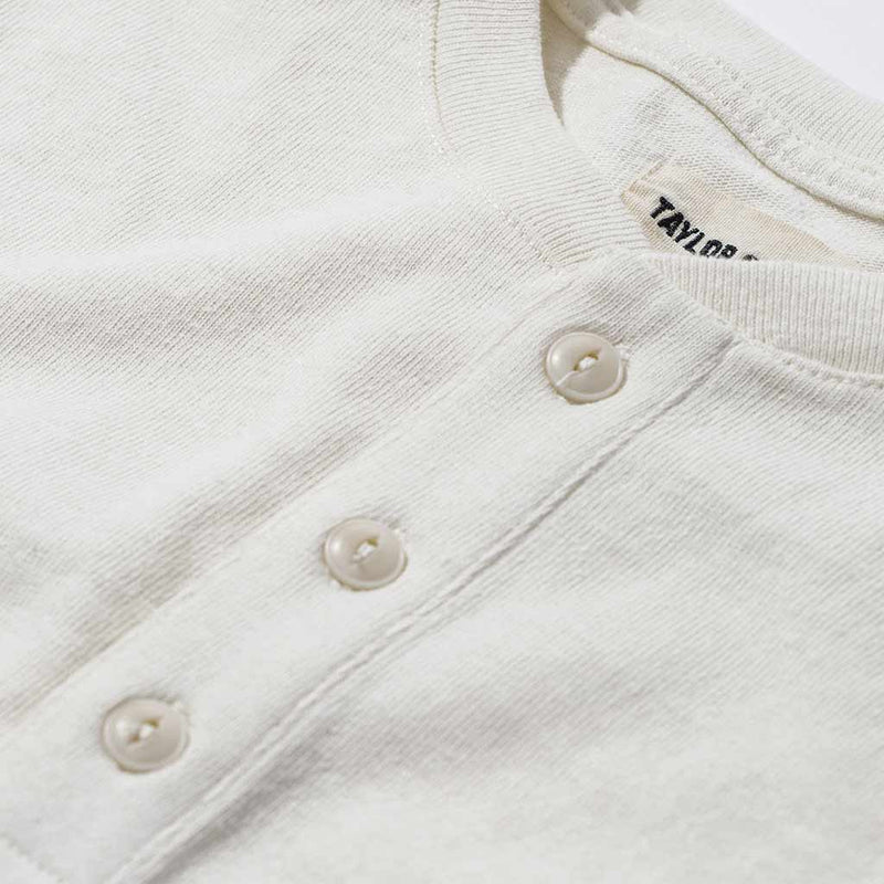 The Heavy Bag Henley in Natural
