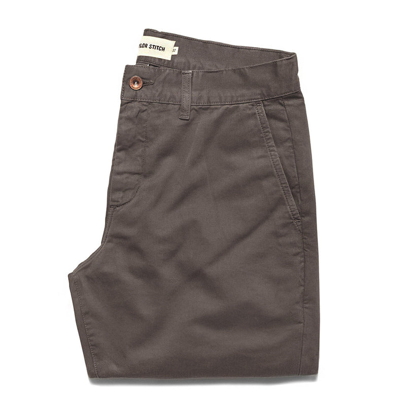 The Slim Chino in Organic Ash - The Revive Club