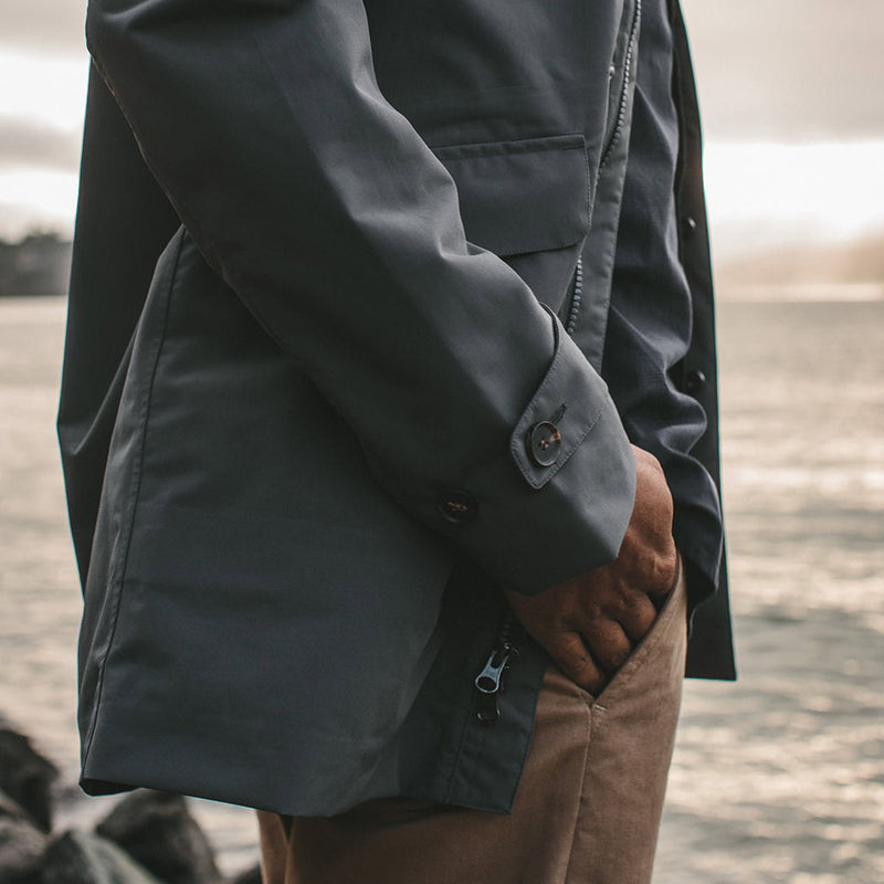 The Primrose Jacket in Charcoal - The Revive Club