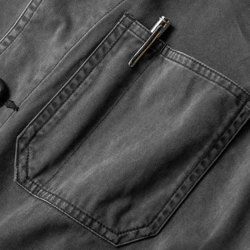 The Ojai Jacket in Washed Charcoal - The Revive Club