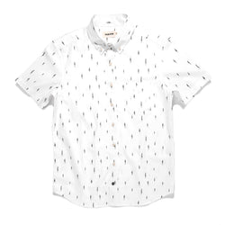 Short Sleeve Jack in Tree Top Poplin - The Revive Club