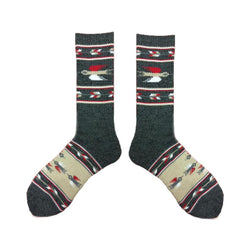 T-Bird Socks - Charcoal - The Revive Club