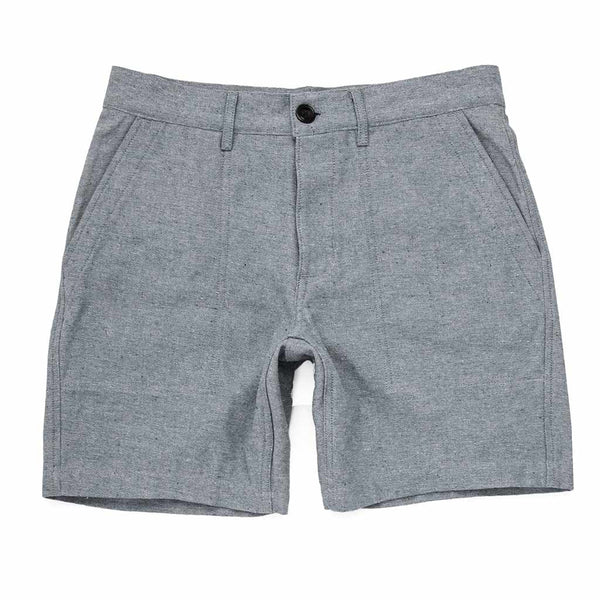 The Trail Short in Midnight Slub - The Revive Club