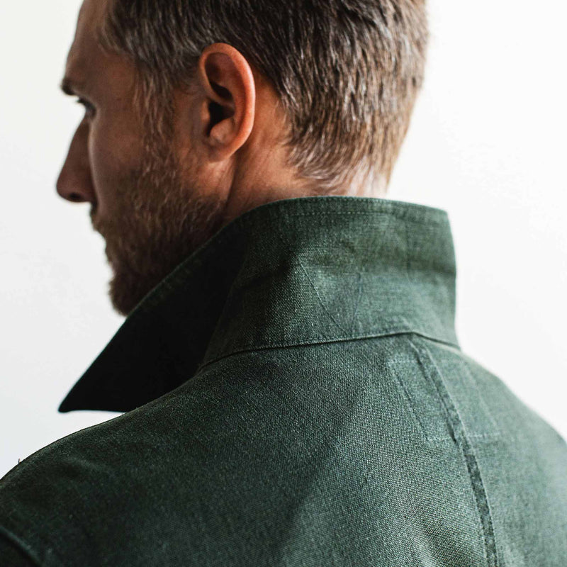 The Project Jacket in Olive Boss Duck