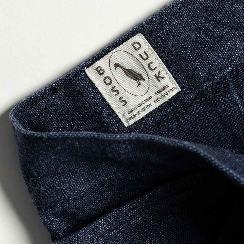 The Chore Pant in Indigo Boss Duck - The Revive Club