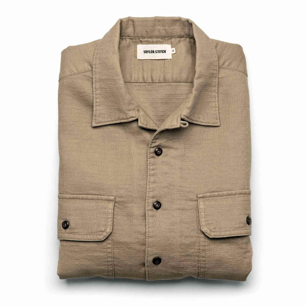 The Corso in Khaki Double Cloth