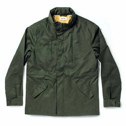 Harris Jacket in Forest Dry Wax