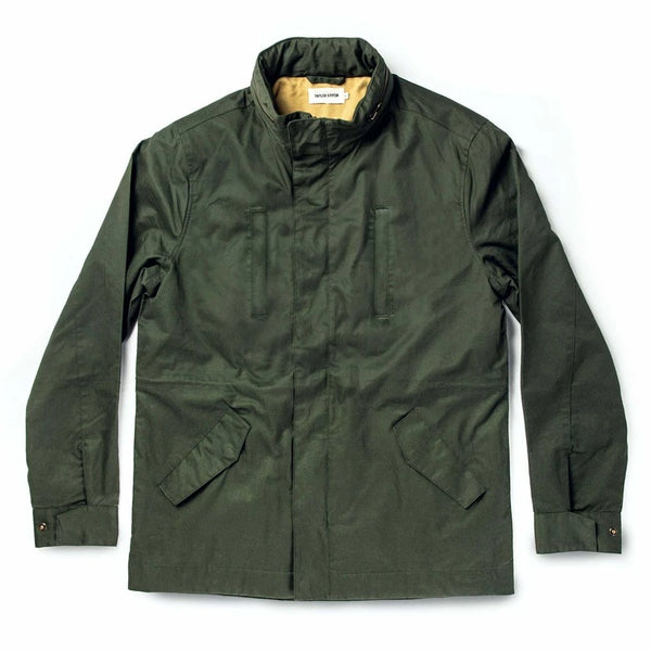 Coming Soon - Harris Jacket in Forest Dry Wax