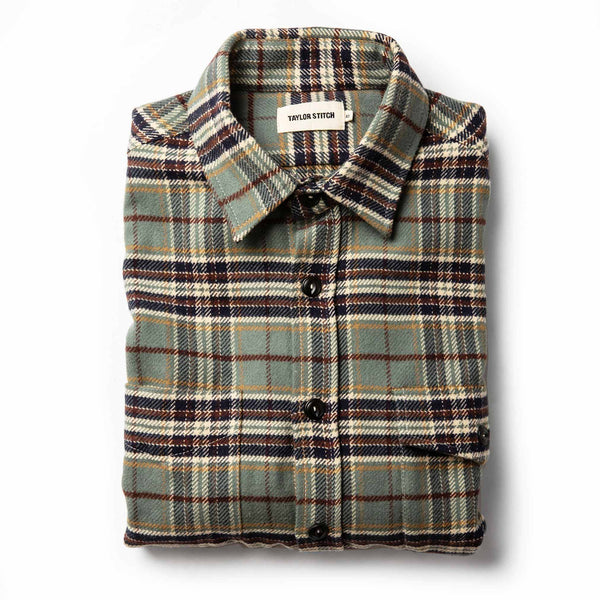 Coming Soon - The Crater Shirt in Blue Plaid