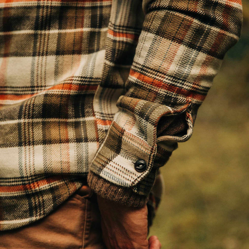 Coming Soon - The Crater Shirt in Tan Plaid