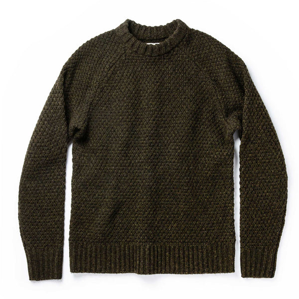 Coming Soon - The Fisherman Sweater in Loden