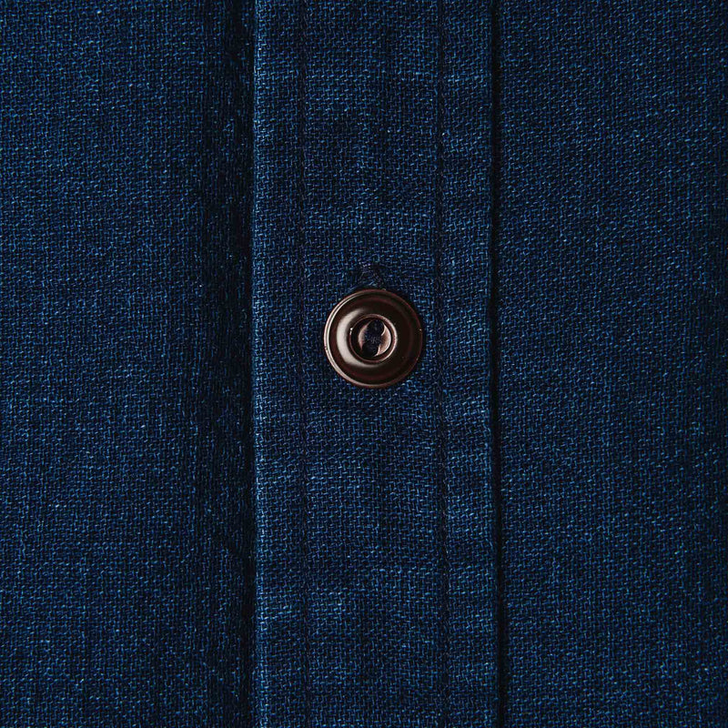 The Corso in Indigo Double Cloth