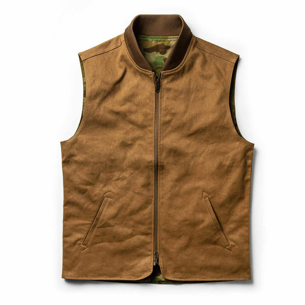The Reversible Able Vest in Arid Camo