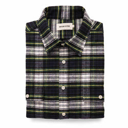 Yosemite Shirt in Blue Tartan - The Revive Club