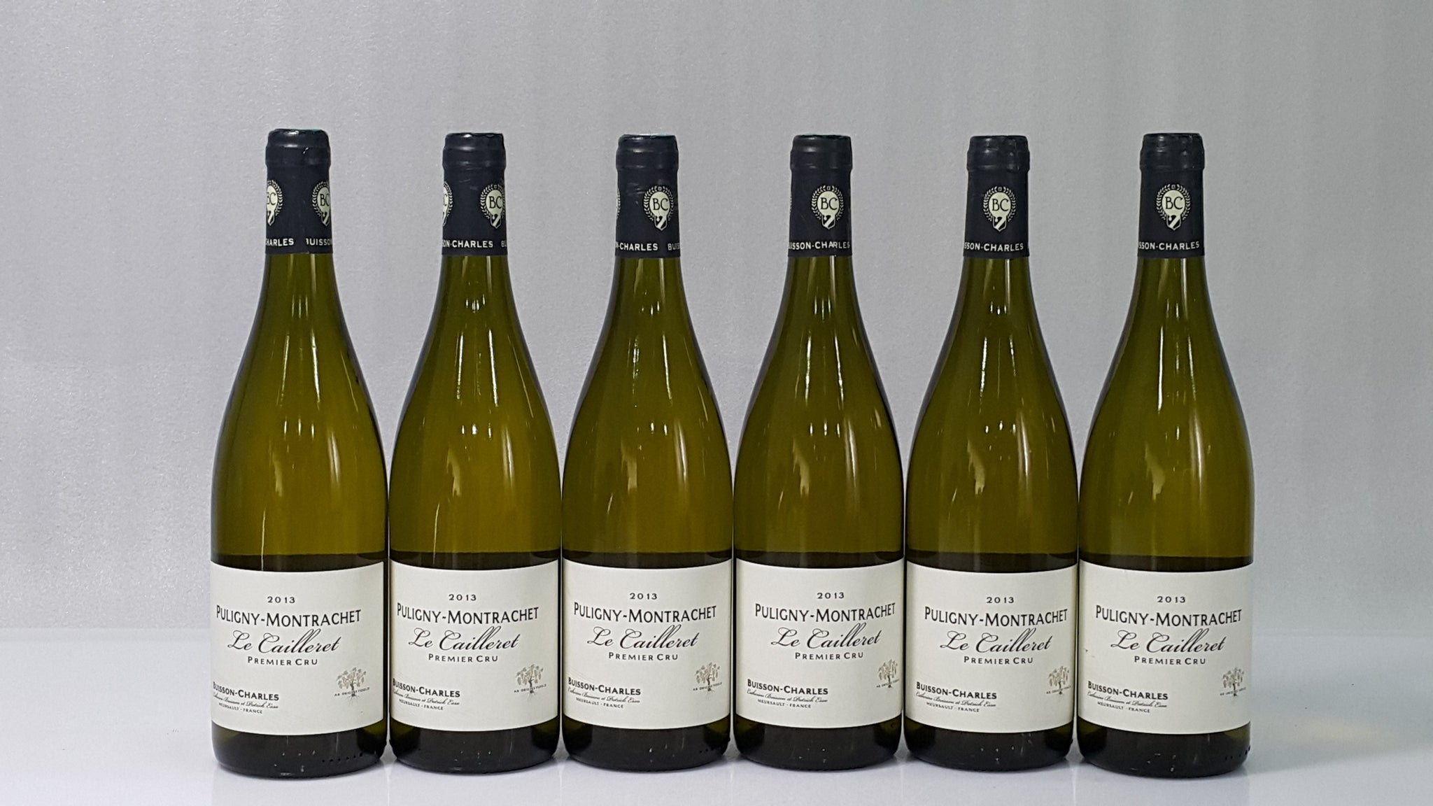 Buisson Charles Puligny Montrachet Le Cailleret 1er Cru 2013