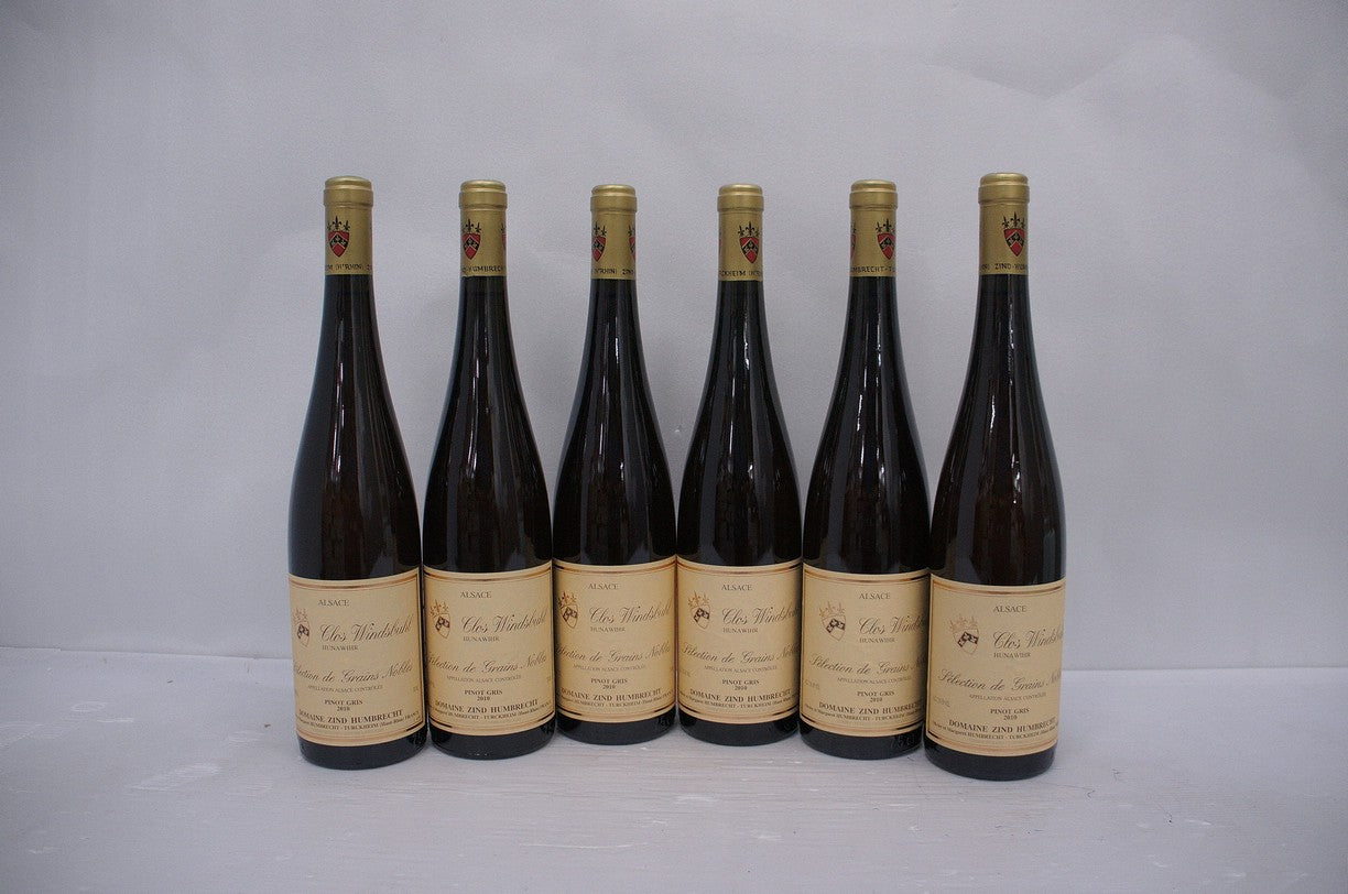 Zind Humbrecht Pinot Gris Clos Windsbuhl Selection de Grains Nobles 2010