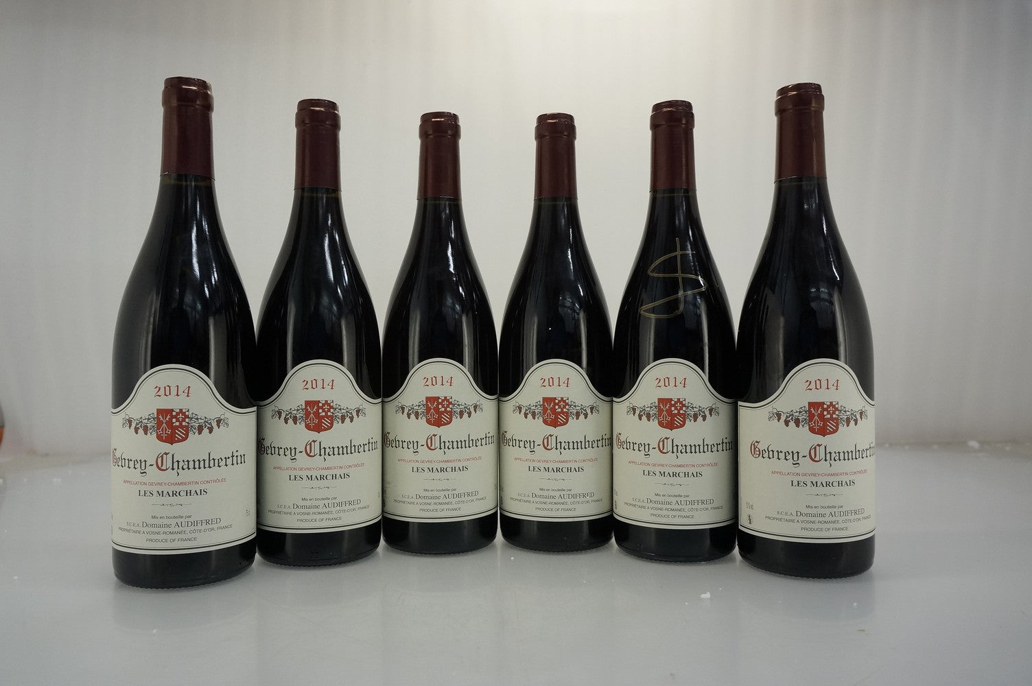 Audiffred Gevrey Chambertin Les Marchais 2014