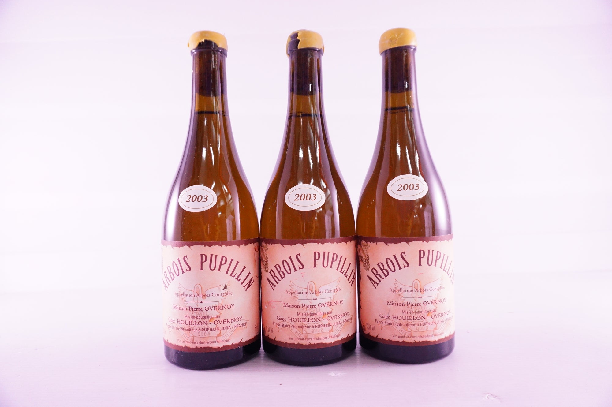 Pierre Overnoy Arbois Pupillin Savagnin Ouille 2003