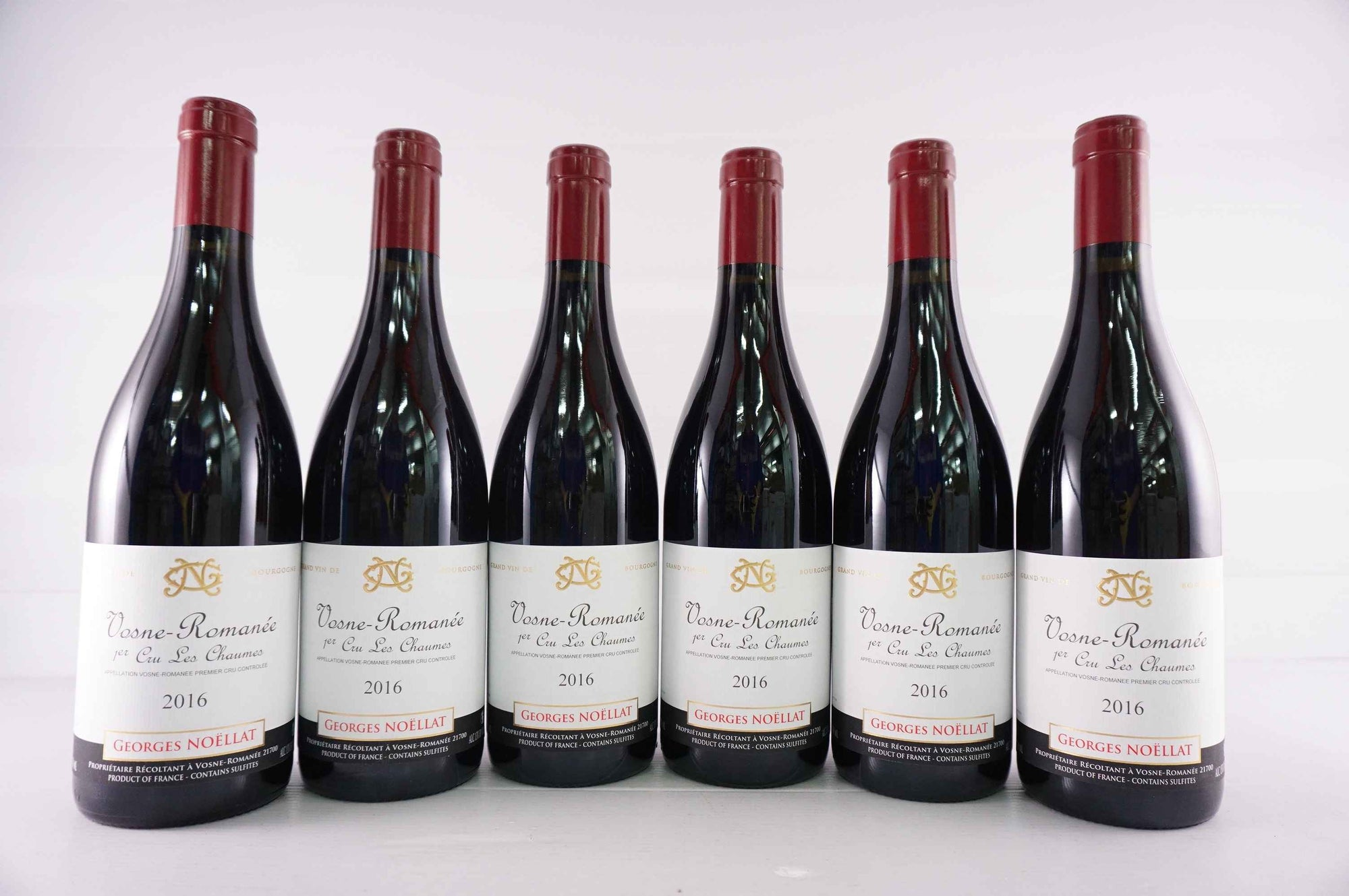 Georges Noellat Vosne Romanee Les Chaumes 1er Cru 2016