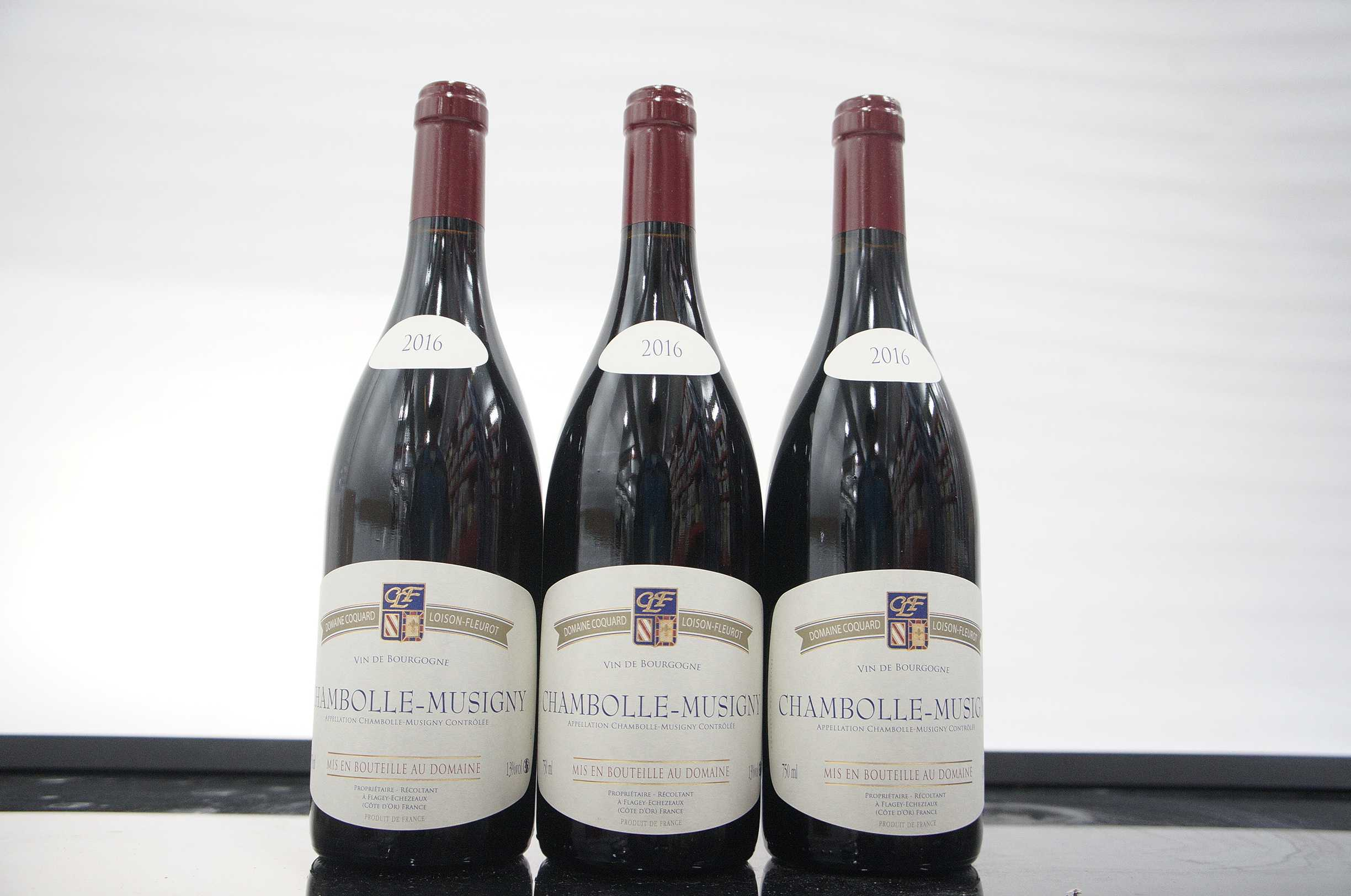 Coquard Loison Fleurot Chambolle Musigny 2016