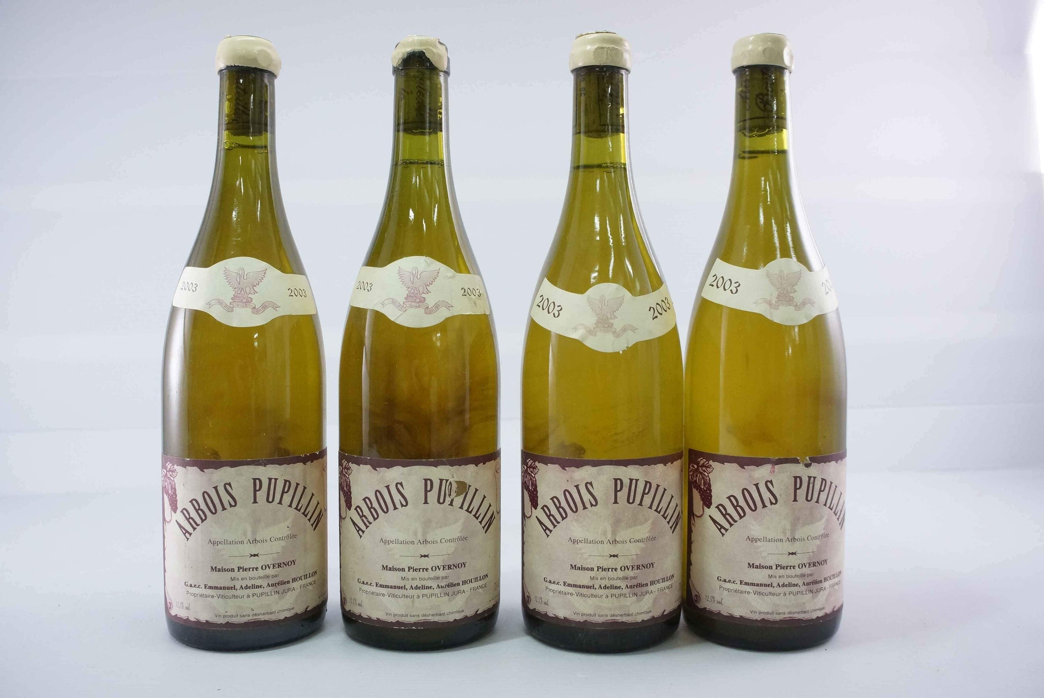 Pierre Overnoy Arbois Pupillin Chardonnay 2003 *