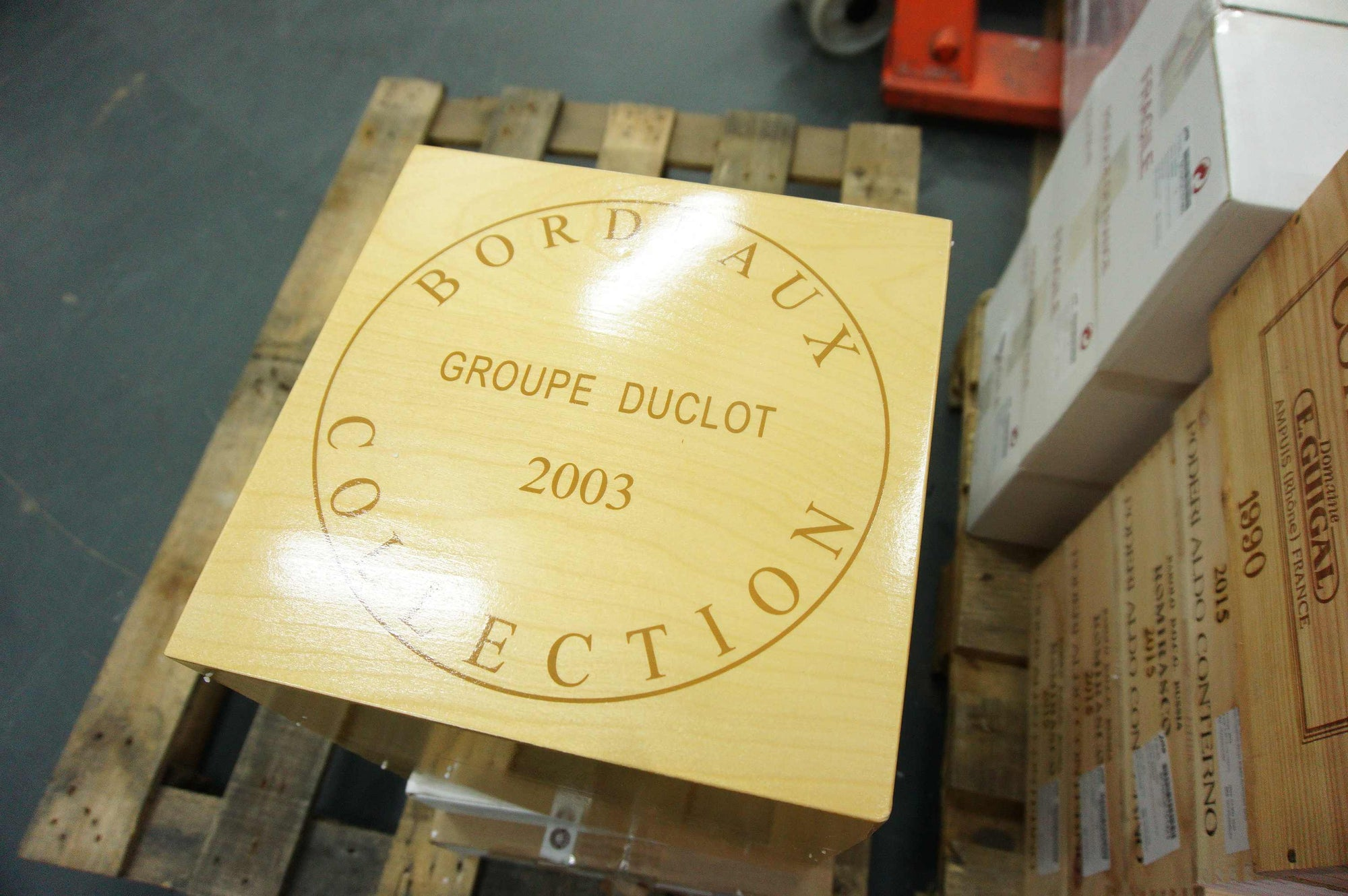 Duclot Collection (9 bottles) OWC 2003
