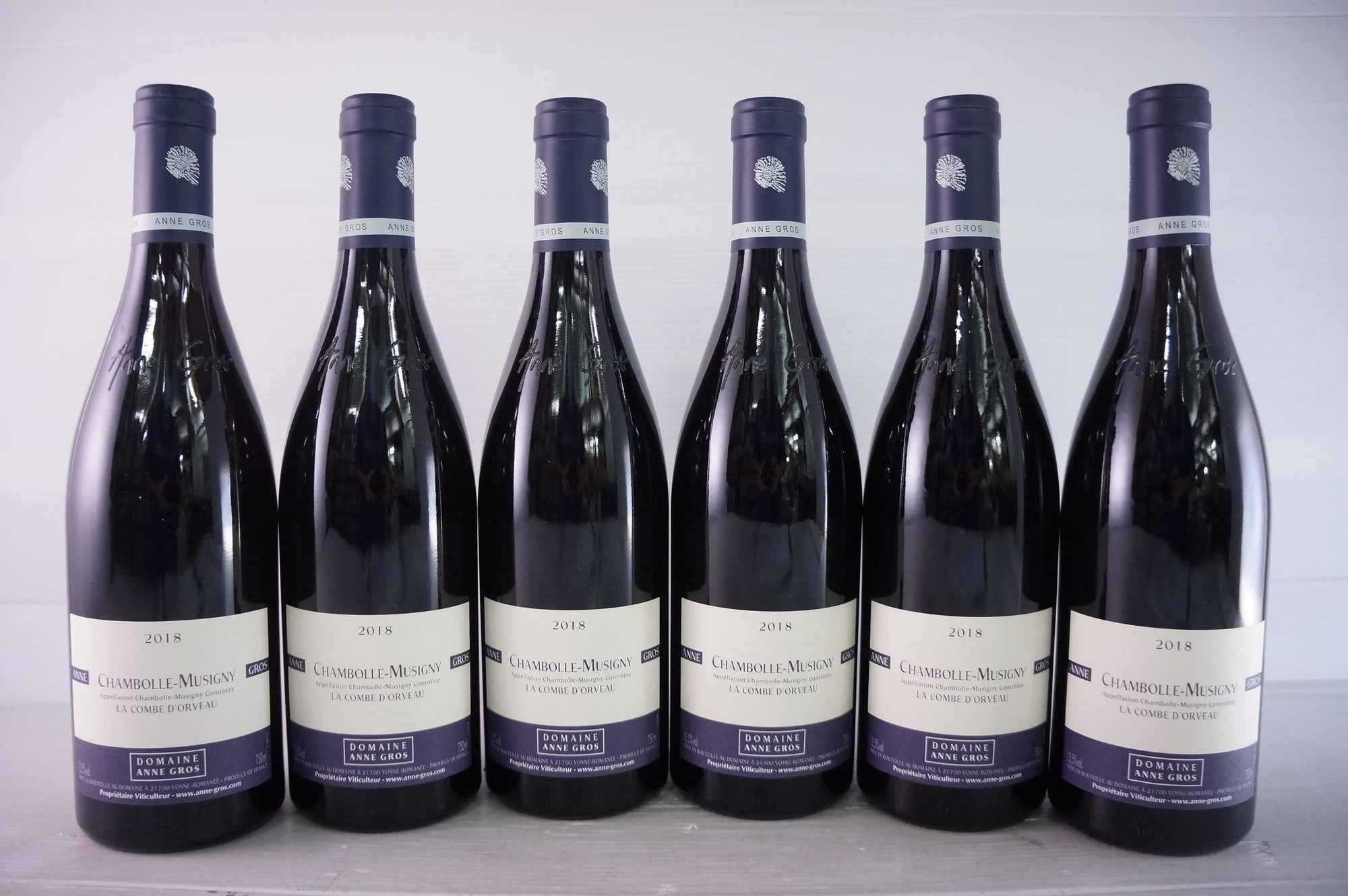 Anne Gros Chambolle Musigny La Combe d'Orveau 2018