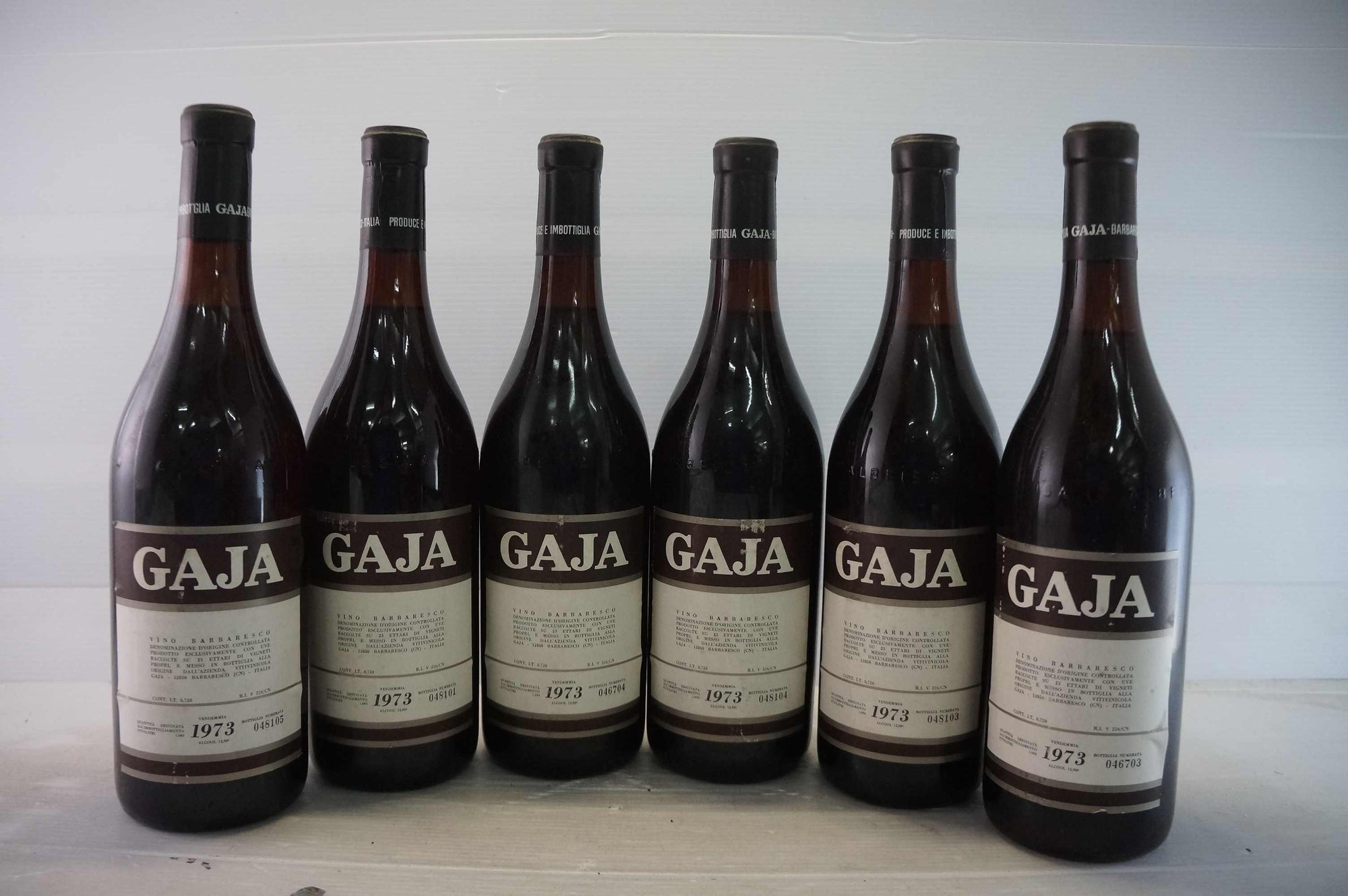 Gaja Barbaresco 1973 *
