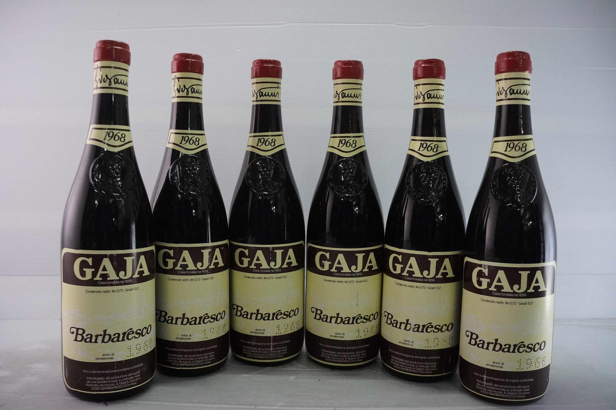 Gaja Barbaresco 1968 *