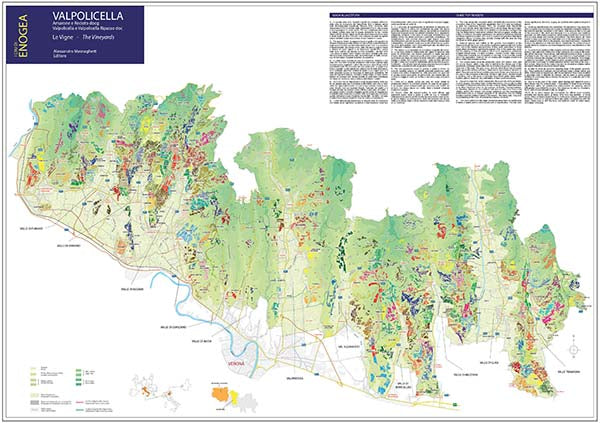 Valpolicella Map - Folded First Ed