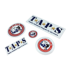 TAPS Logo Vinyl Decal