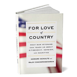 For Love of Country Hardcover Book