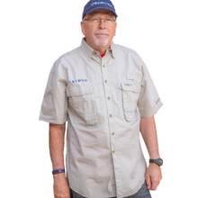 Load image into Gallery viewer, Hook & Tackle Short Sleeve Fishing Shirt