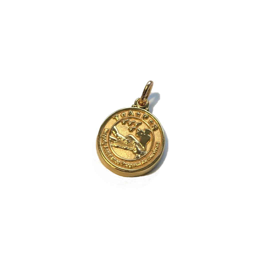 20k Gold Plated TAPS Charm