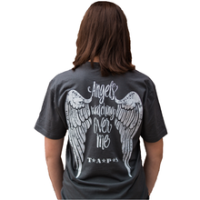 Load image into Gallery viewer, Angels Watching Over Me Grey Unisex Tee